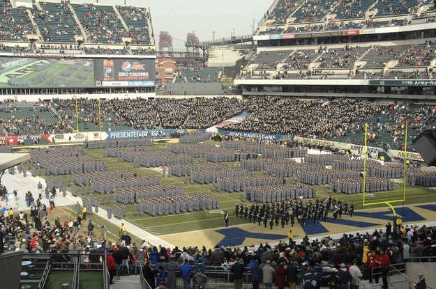 Army vs Navy: March On One of the coolest traditions in college football that exists
