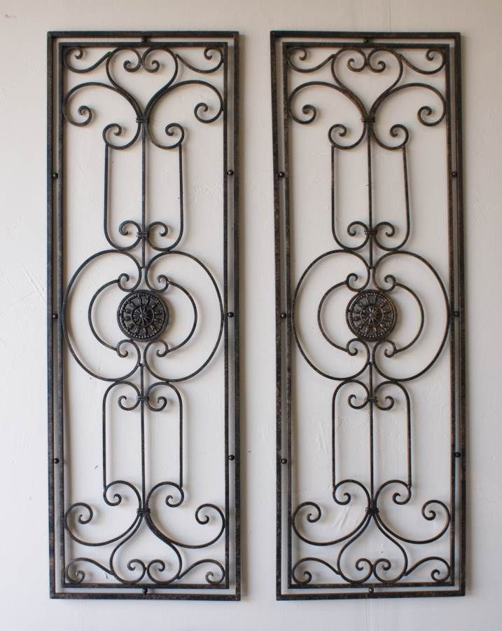 Wrought Iron Kitchen Wall Decor Kitchen Wall Decor