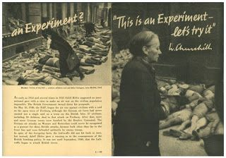 THIS IS AN EXPERIMENT HITLER GOEBBELS V1 ROCKET IN LONDON LEAFLET POSTCARD PROPAGANDA GERMAN WW2 PRICE $4999