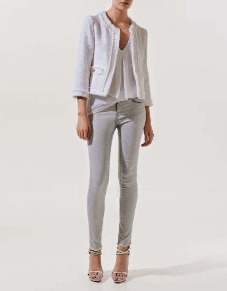 Patrón gratis: chaqueta tipo Chanel | Aprender manualidades es facilisimo.com