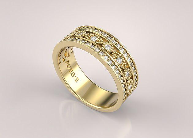 Um guia completo sobre como usar de anéis de noivado, alianças e anéis de compromisso.