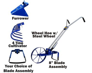 Valley Oak Tool Company Store - Wheel Hoe Package, $475.00 (http://www.valleyoaktool.com/wheel-hoe-package/)