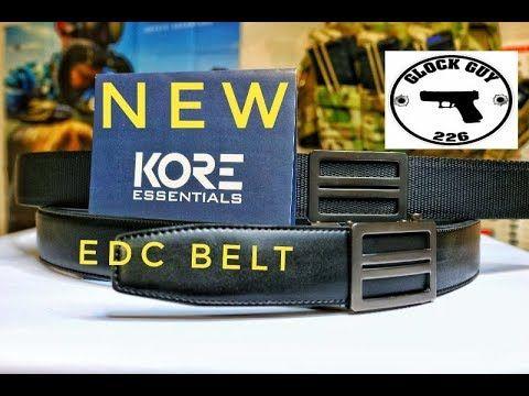 KORE ESSENTIALS NEW TACTICAL EDC BELT!