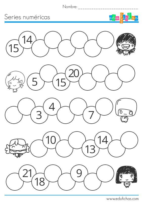 ejercicio numericas series