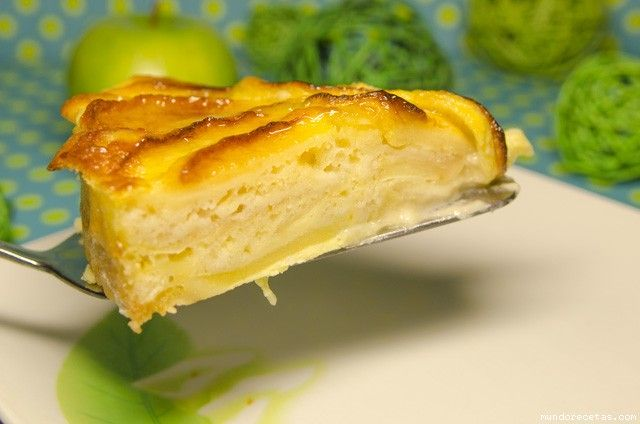 Tarta facil de manzana