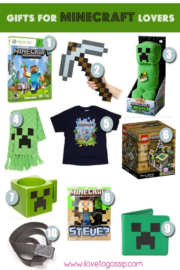 Top Minecraft Gifts for Christmas 2013