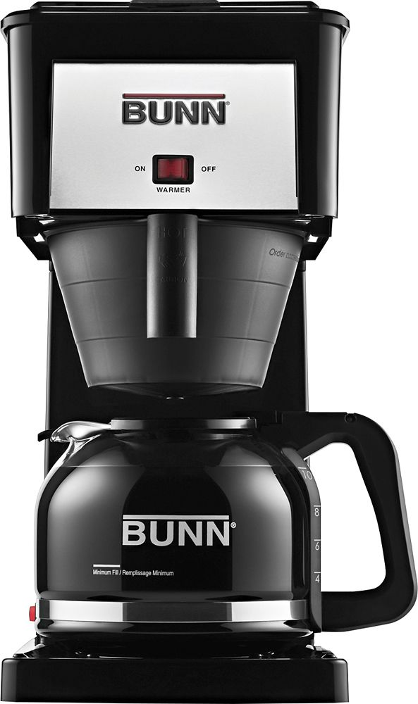 Bunn Grb Velocity Brew Orignal 10 Cup Coffee Maker Black