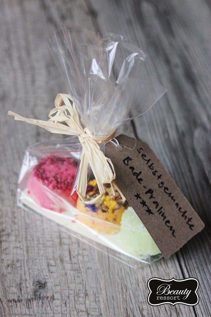 DIY Geschenke | Sprudelnde Badepralinen | beautyressort