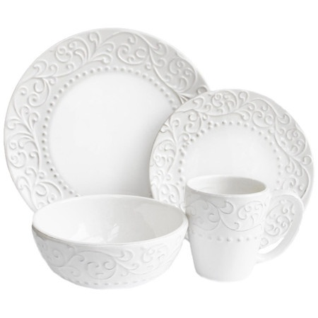 I pinned this 4 Piece Spirale Dinnerware Set from the Cote & King event at Joss and Main!