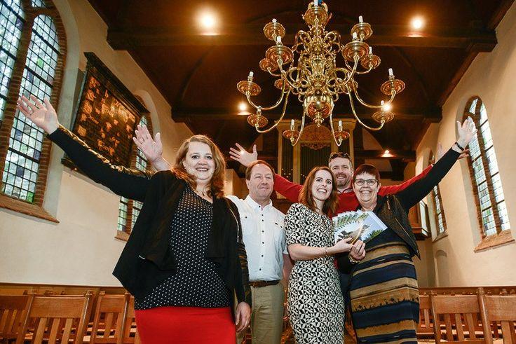 Westfriese Uitdaging zorgt voor nieuwe brochure dorpskerk Opperdoes