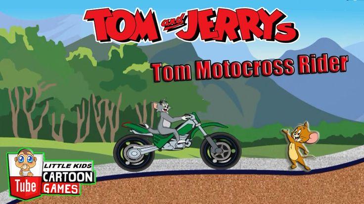 ᴴᴰ ღ Tom and Jerry 2017 Games ღ Tom and Jerry - Tom Rider MOTOBIKE ღ Bab...