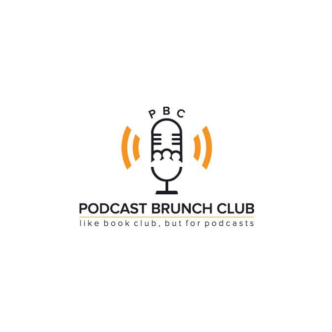 Create a logo for Podcast Brunch Club by cucuque design