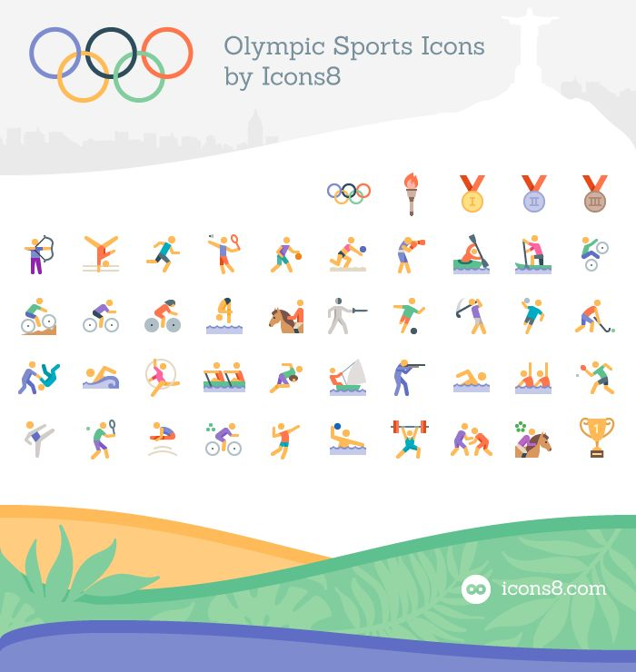 Free Olympic Sports Icons