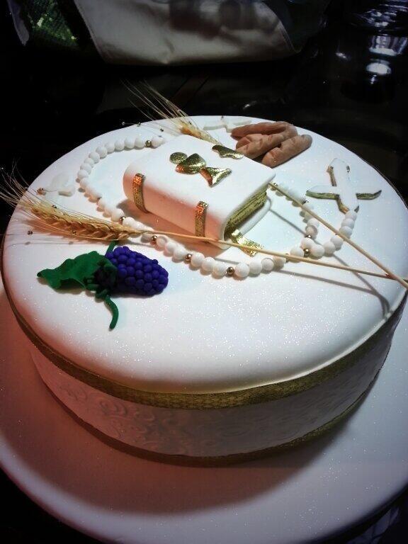 Torta de primera Comunion Cake conmunion
