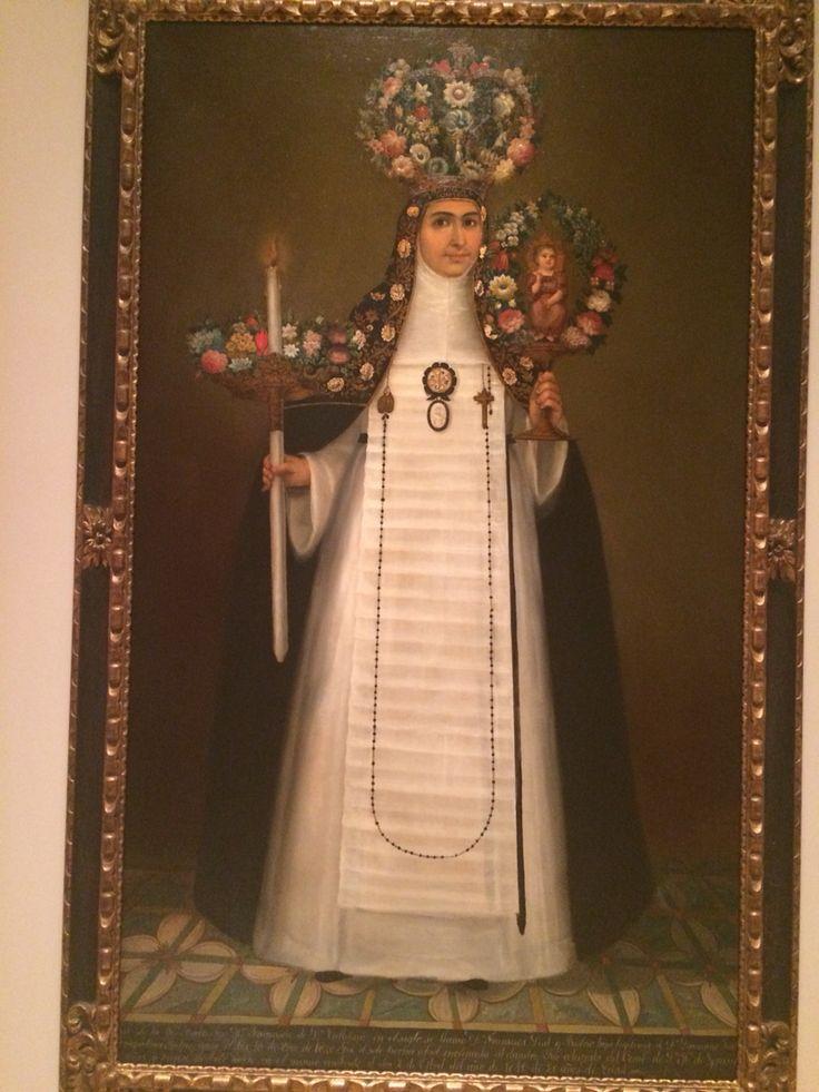 Sor Maria Francisca de San Calletano by Felix Zarate