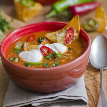 Famous Mexican Soup | MyDailyMoment | MyDailyMoment.com