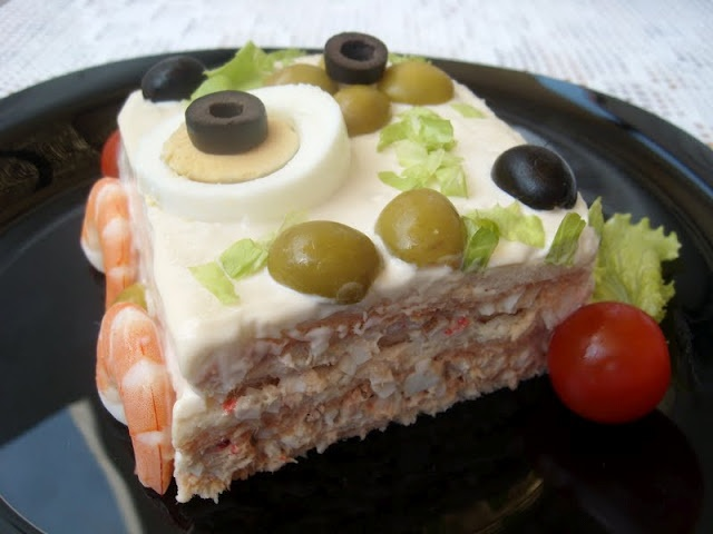 La Cocina de los inventos: Pastel frio de Pan de Molde ༺✿ƬⱤღ  http://www.pinterest.com/teretegui/✿༻