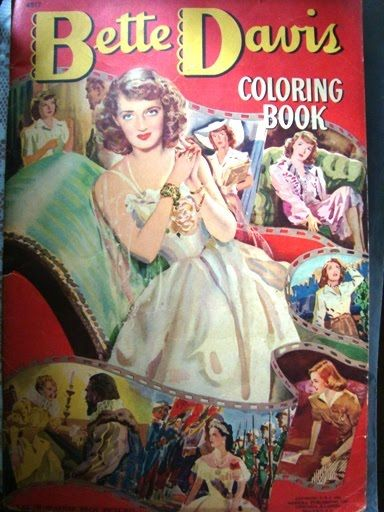 Bette Davis Coloring Book, 1942