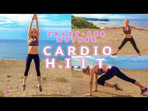 Fat Burning Cardio HIIT ♥ High Intensity Interval Training - YouTube