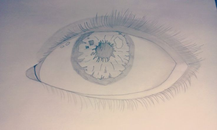 I made a eye and .........it cool :)