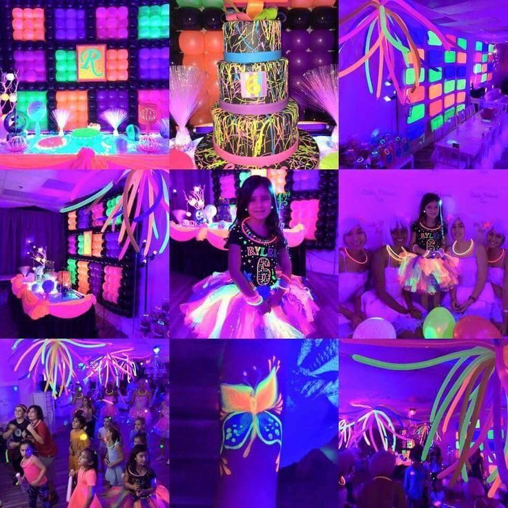 Glow party ideas #coolglow #partysupplies