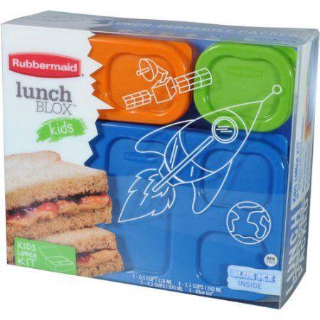 Rubbermaid Boys' Lunch Kit, Flat - Walmart.com
