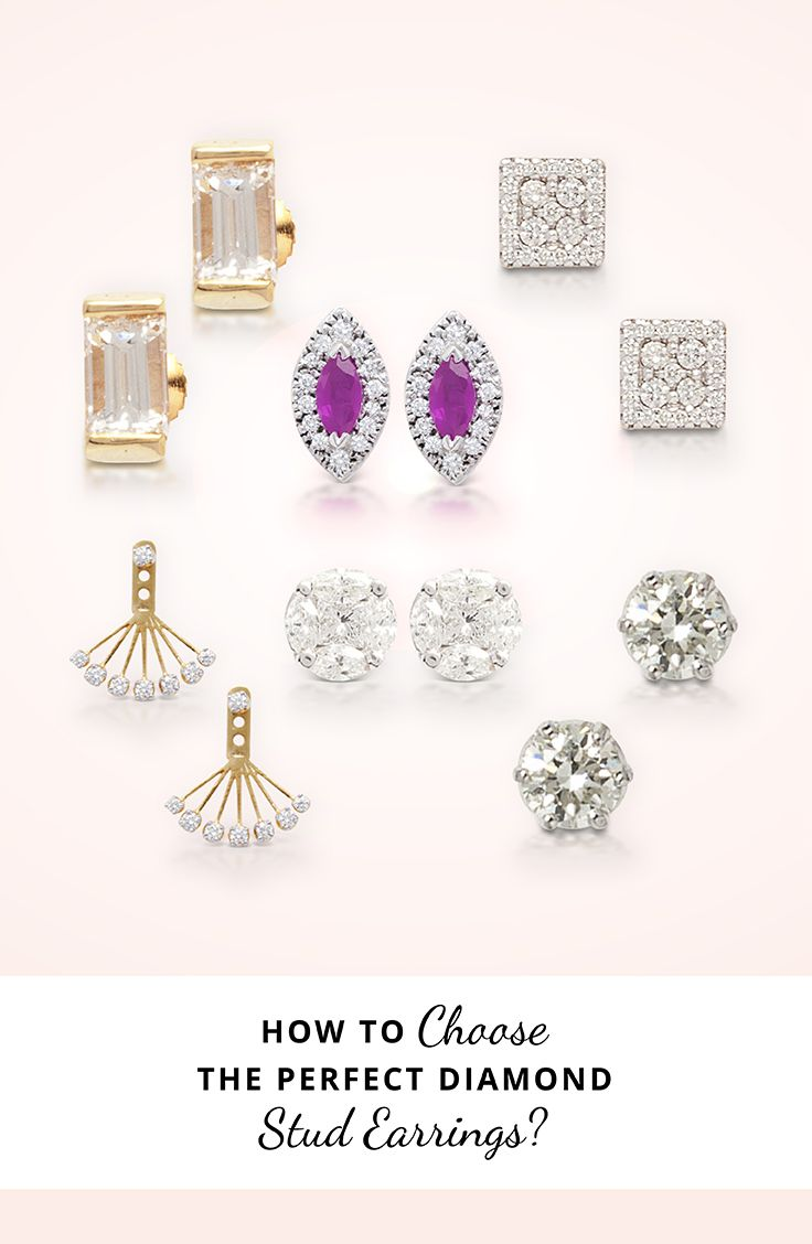 How To Choose Perfect Stud Earrings  A Pair Of The Perfect Diamond Stud  Earrings Are