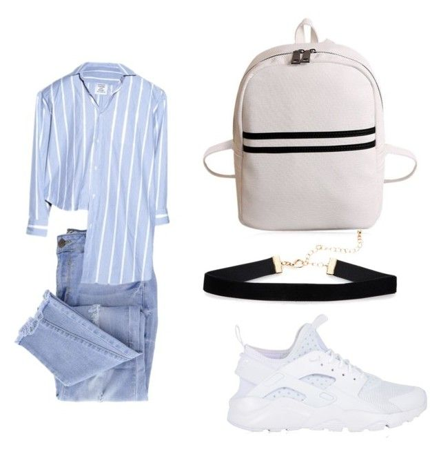 """""""Spring"""" by saryr on Polyvore featuring mode, Essie, Vetements et NIKE"""