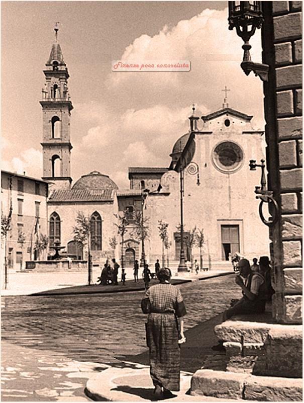 Piazza Santo Spirito, 1910 circa