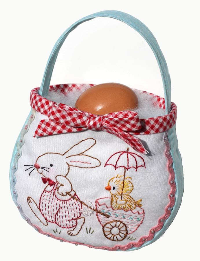 free Easter bag pattern