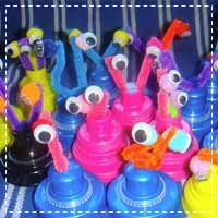 Kids Space Alien Crafts | The Honorable Mention Preschool Blog