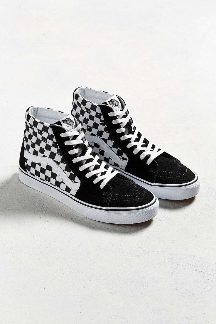 Vans Sk8-Hi Checkerboard Sneaker