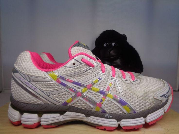 Womens Asics Gel GT 2000 Running Cross Training shoes size 8 T2K7N #ASICS #RunningCrossTraining