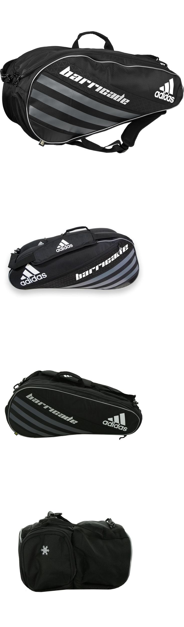 Bags 20869: Nwt Adidas Barricade Iv Tour 6 Pack Tennis Bag Lifetime Warranty -> BUY IT NOW ONLY: $59.95 on eBay!