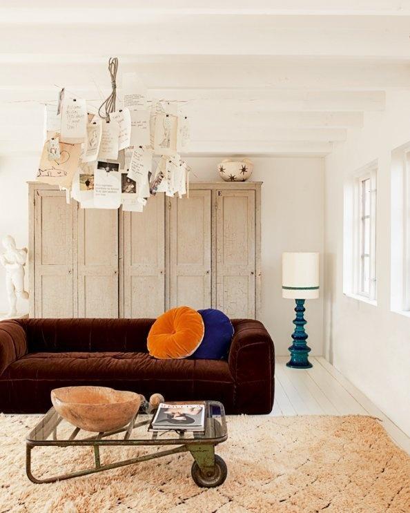 Inspiração para uma decoração boémia. BricoDecoracao.com