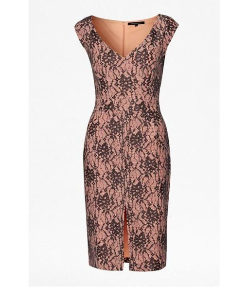House of Fraser - French Connection Lara Lace Shift Dress - very pretty dress.