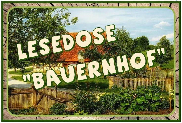 Gastmaterial - Lesedose Bauernhof