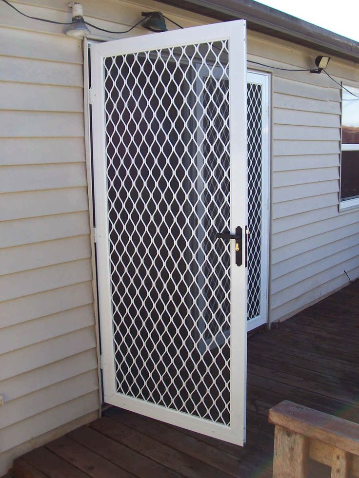 French Door Security Devices With White Wood Wall Interior Design - GiesenDesign & 8 best Grill Door images on Pinterest | Grilling Fence design and ... Pezcame.Com