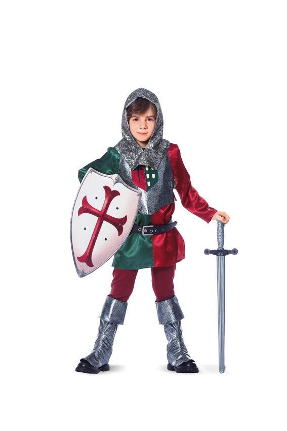 BD9446 Child's Medieval Knight Costume