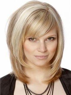 Top Quality Soft Elegant Medium Straight Wig 100% Human Hair about 14 Inches Item # W1390       Original Price: $554.00 Latest Price: $178.39