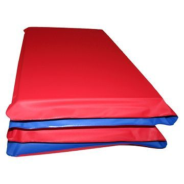 KinderMat­ Children's Rest Mat - Red/Blue