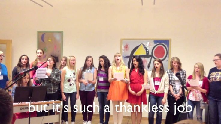 Alto choir singers - I dream a dream parody HILARIOUS @shyanagavin1999 @kaylam1578 You have to listen to this