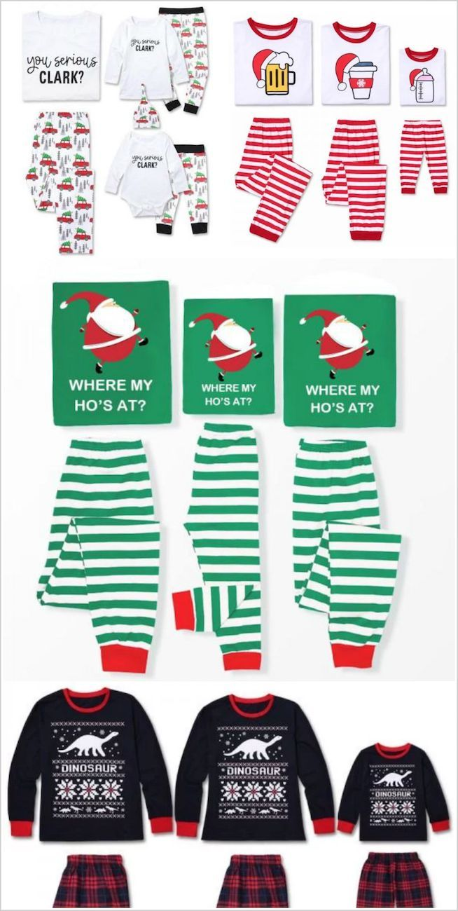 The Best Selection Of Matching Funny Family Christmas Pajamas