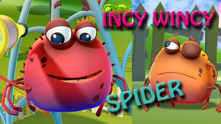 Incy Wincy Spider Song, Rhyming Poems For Kids, Short Funny Poems