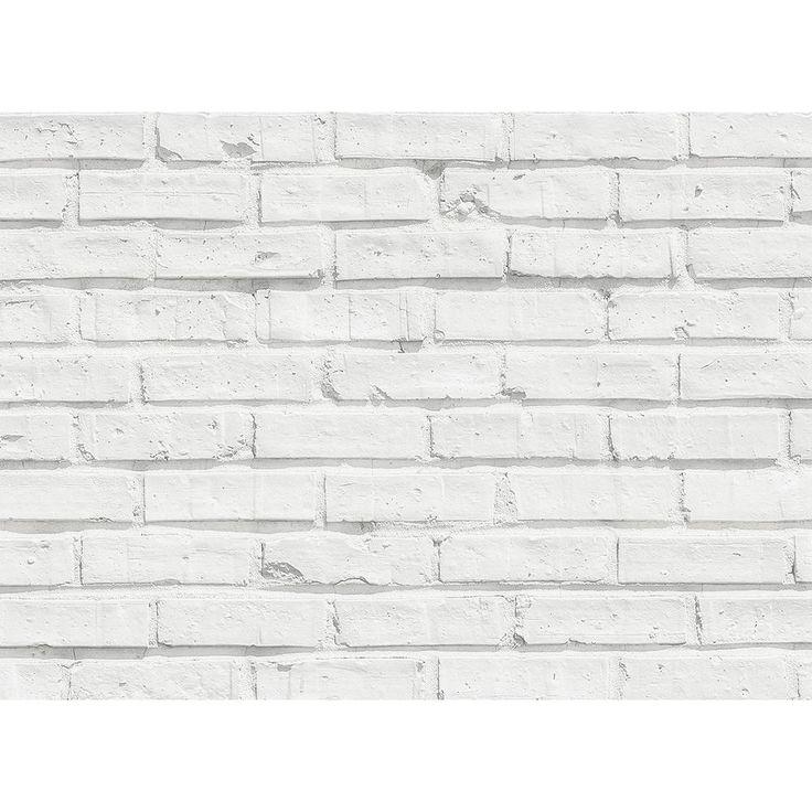 Brewster White Bricks Kitchen Panel Wall Decal In 2019