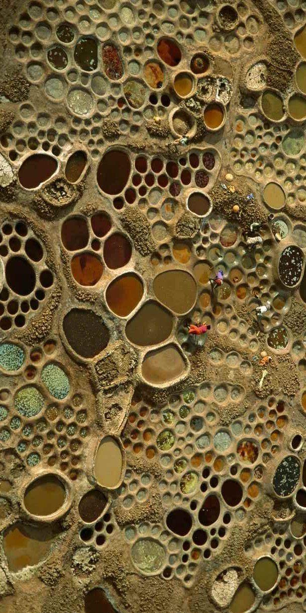 Saltworks in Niger, appeared in Focus December 2008