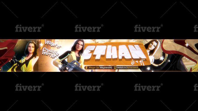 Taviarts I Will Make You A Fortnite Header Or Fortnite Banner For 15 On Fiverr Com Header Banner Banner Fortnite