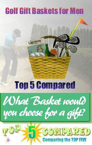 Golf Gift Baskets for Men