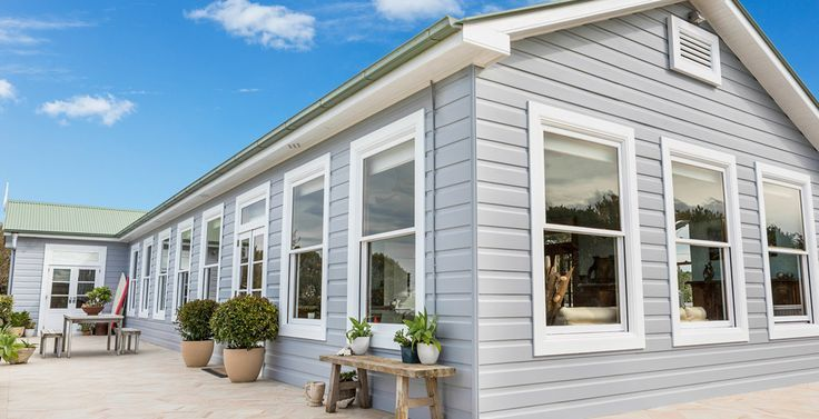 26 best images about house facade on pinterest grey for Queenslander exterior colour schemes