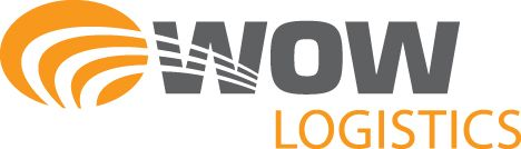 Transportation Company Logos | WOW Logistics logo incorporates the company's core strategic business ...